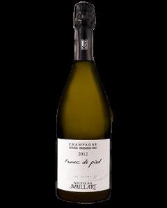 Les Francs de Pied 2012 1er Cru, Champagne Nicolas Maillart