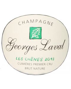 Les Chênes Brut Nature 2013 1er Cru, Champagne Georges Laval