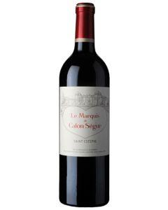 Marquis de Calon 2016 2e vin du Calon-Ségur St-Estèphe AC, MC