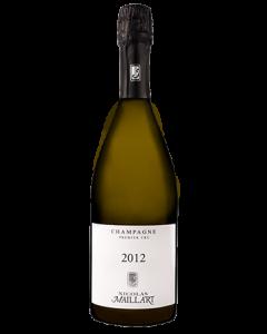 Brut Millésime 2012 1er Cru, Champagne Nicolas Maillart